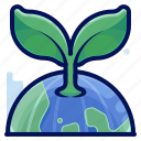 ecology, environmental, green, natural, plant icon
