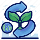 compost, ecology, environmental, natural, recycle icon