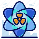 ecology, environmental, natural, nuclear, science icon