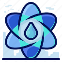 ecology, environmental, natural, science, water icon