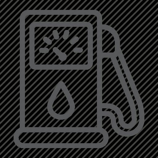Diesel, energy, fuel, gas, gasoline, petrol, pump icon - Download on Iconfinder