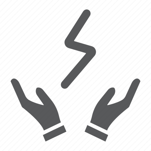 Bolt, electric, hands, lightning, power, thunder icon - Download on Iconfinder