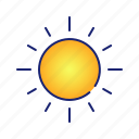 ecology, energy, nature, sun, weather icon