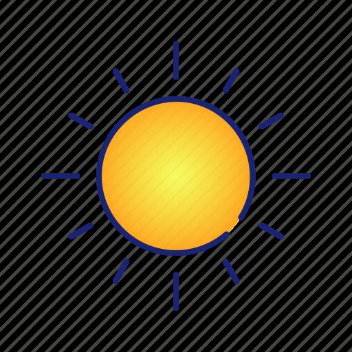 ecology, energy, nature, sun, weather icon