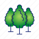 ecology, forest, go green, nature, tree icon