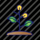 ecology, garden, go green, nature, tree icon