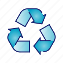 ecology, go green, green, nature, recycle icon