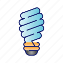 bulb, ecology, energy, lamp, light icon