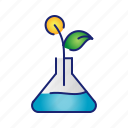 cloning, ecology, experiment, science, tree icon