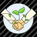 2, agreement, climbing, eco, ecology, environmental, plant, responsibility, sustainability icon
