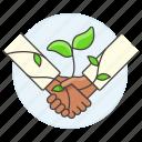 3, agreement, climbing, eco, ecology, environmental, plant, responsibility, sustainability icon