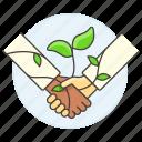 agreement, climbing, eco, ecology, environmental, plant, responsibility, sustainability icon