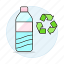 bottle, eco, ecology, plastic, recycle, recycling, symbol icon