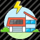 awarenes, ecology, energy, environmental, house, panel, photovoltaic, renewable, solar icon