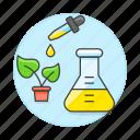 ecology, engineered, engineering, food, genetic, gmo, modified, plant, testing, transgenic icon