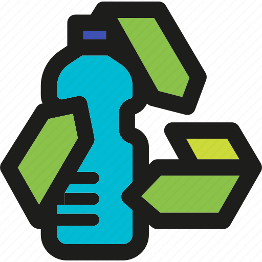 bottle, eco, ecology, enviroment, green, nature, recycle icon