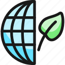 ecology, globe, leaf