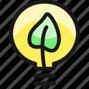 ecology, leaf, bulb