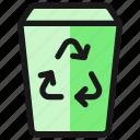 recycling, bin, trash