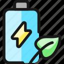 renewable, energy, battery, leaf