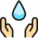 water, protection, drop, hold
