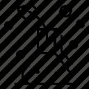flask, lab, physics icon