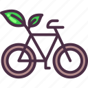 bicycle, bike, cycle, eco, eco friendly, ecology icon