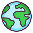 earth, eco, ecology, globe, planet, save earth icon