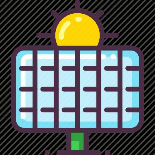 eco, ecology, energy, solar, solar energy, solar panel icon
