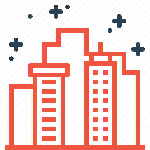 building, city, clean, ecology, environment, smart icon