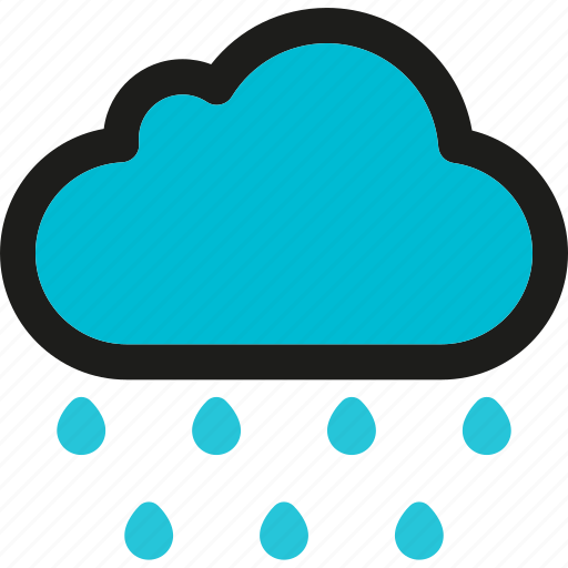Rain, cloud, cloudy, forecast, snow, weather icon - Download on Iconfinder