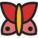 beauty, butterfly, flower, nature, plant, spring, wings icon
