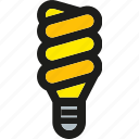 bulb, electric, electricity, idea, lamp, lighting, power icon