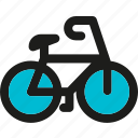 bicycle, bike, cycling, exercise, fitness, game, sport icon