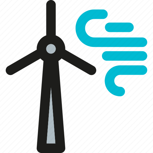 ecology, electric, electricity, energy, environment, turbine, wind icon