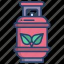 gas, cylinder