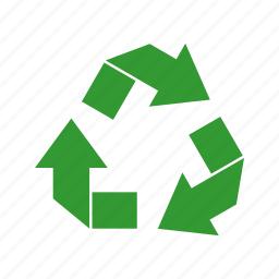 arrow, ecological, environmental, recycle icon