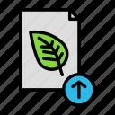 docuploadleaf icon