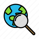 earthmagnify icon