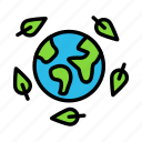 leafroundearth icon
