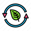 reyclearrowsleaf icon