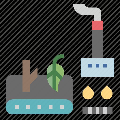 Bio, biomass, burn, energy, tree, wood icon - Download on Iconfinder