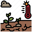 disaster, drought, global, nature, weather icon