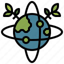grid, planet, signs, world icon