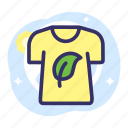 earth day, eco, ecology, energy, shirt icon