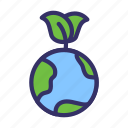 earth, earth day, ecofriendly, ecology, energy, leaf icon