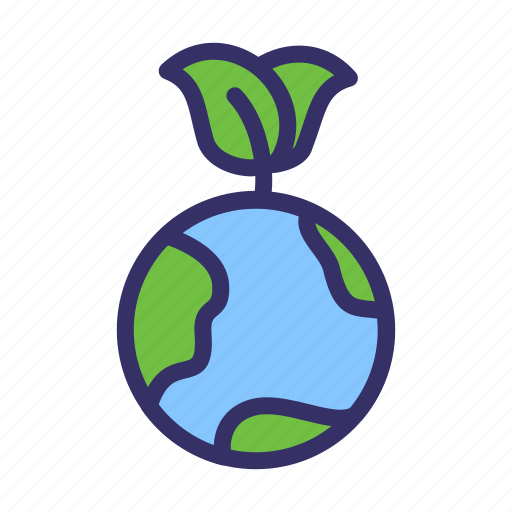 earth, earth day, ecofriendly, ecology, energy, leaf icon