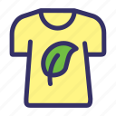 clothing, earthday, fashion, nature, shirt icon