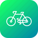 bicycle, bike, cycle, ecology, environment, riding icon