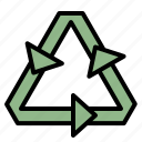 ecology, environment, recycle, sign icon
